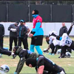 Cam Newton Shows Off Dance Moves