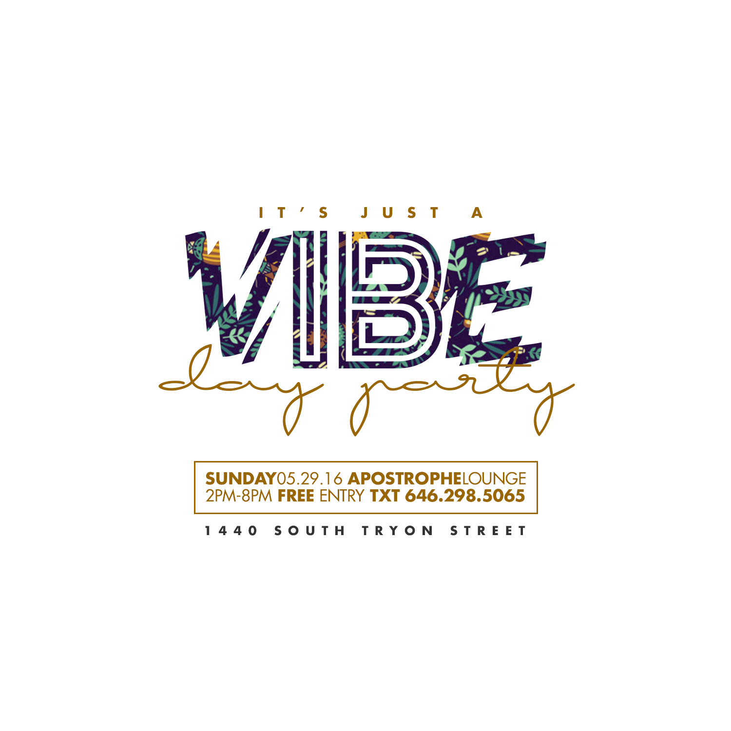 :: IT'S JUST A VIBE ::