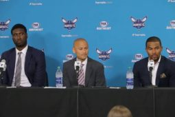 Charlotte Hornets introduce Ramon Sessions & Roy Hibbert