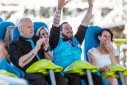 Photos: Roller Coaster Wedding at Carowinds Fury 325