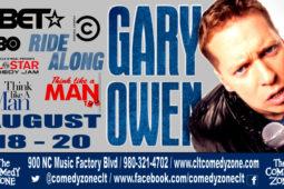 Comedian Gary Owen Live