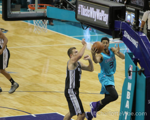 Hanging Out: Charlotte Hornets Jeremy Lamb