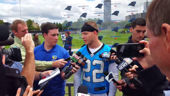 Carolina Panthers 2017 Rookie Camp Interviews
