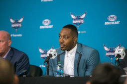 Charlotte Hornets introduce Dwight Howard