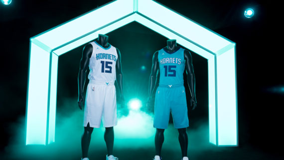 Charlotte Hornets Unveil Two New Uniforms