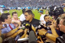 Panthers Fan Fest 2017 with Coach Rivera