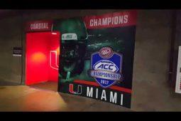 Sneak Peak of ACC Championship Setup
