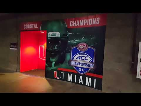 Sneak Peak of ACC Championship Setup