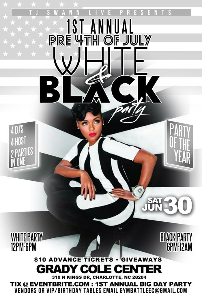 1st Annual Pre 4th of July White & Black Party