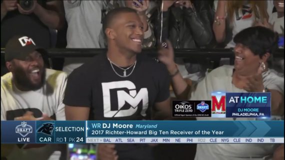 2018 1st Round Pick DJ Moore Press Conference: Audio Only